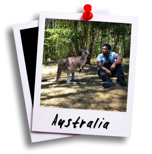 David Castain Destinations - Australia Polaroid