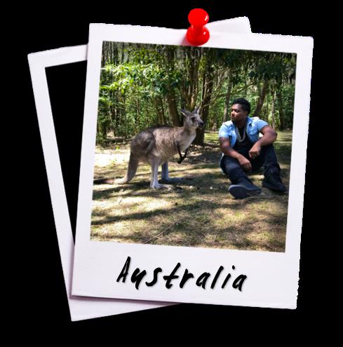 David Castain Destinations - Australia Polaroid