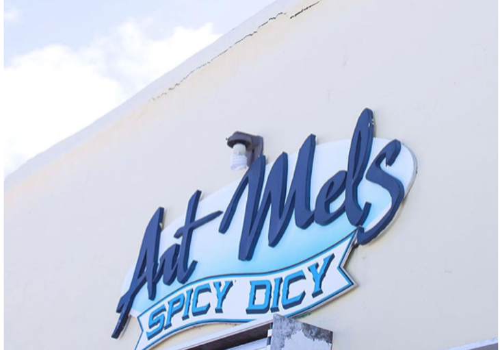 Art Mel's Spicy Dicy, North Shore Village - Bermuda