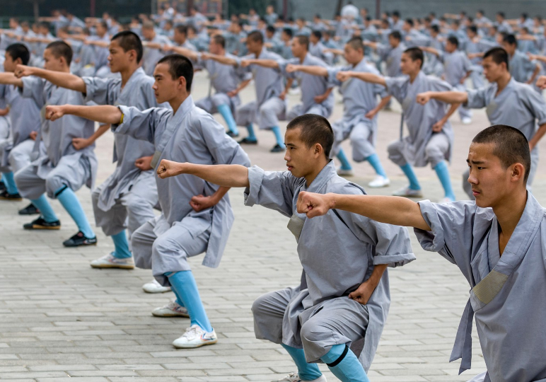 Learn Kung Fu at Shaolin Temple - China