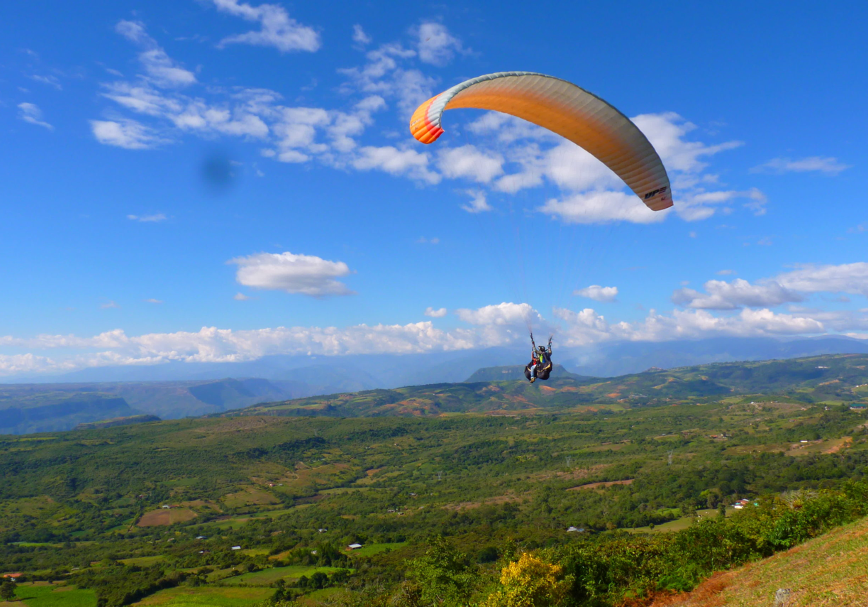 Paraglide Through Chicamocha Canyon - Colombia