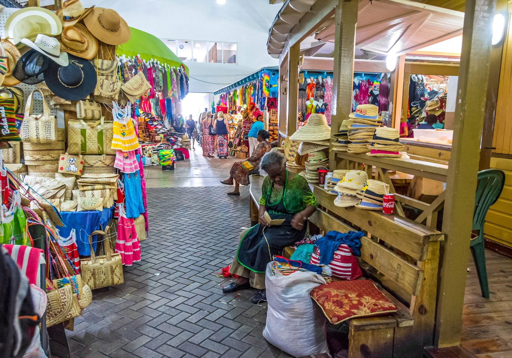 Shop at the Nassau Straw Market -David Castain Destinations