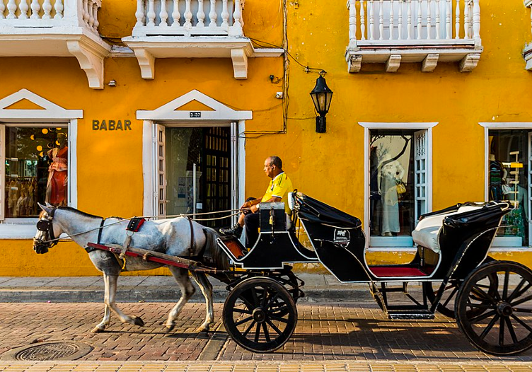 Take A Chariot Through The Old City - Colombia