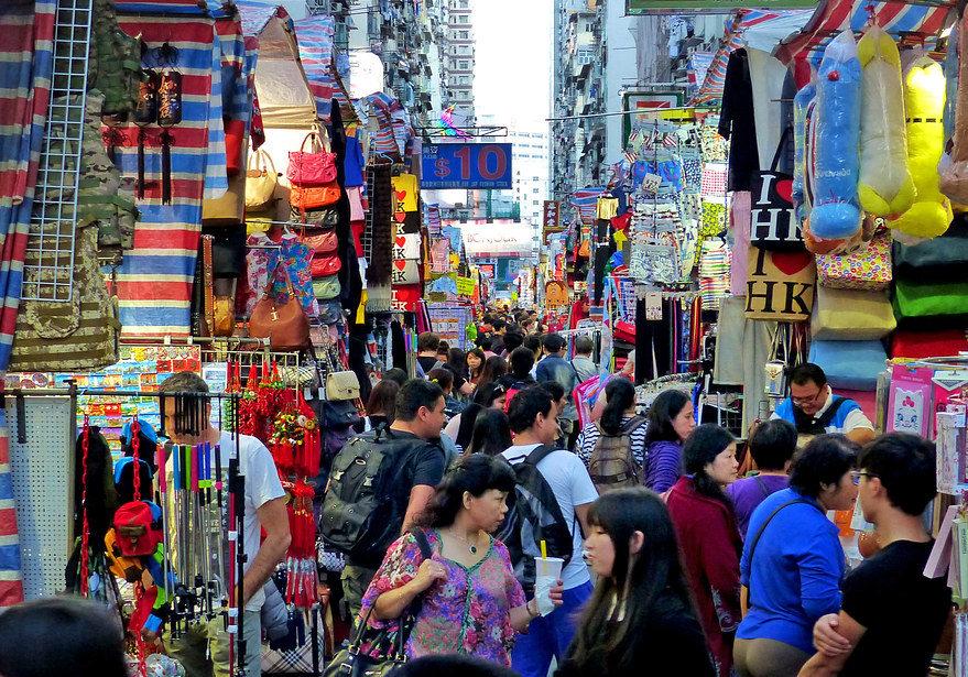 Visit A Street Market - China